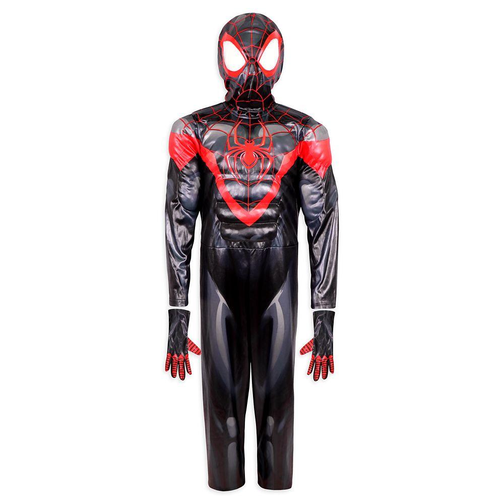 디즈니 키즈 '마블' 스파이더맨 코스튬 Disney Miles Morales Spider-Man Costume for Kids
