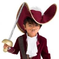 Captain Hook Hat for Kids – Peter Pan