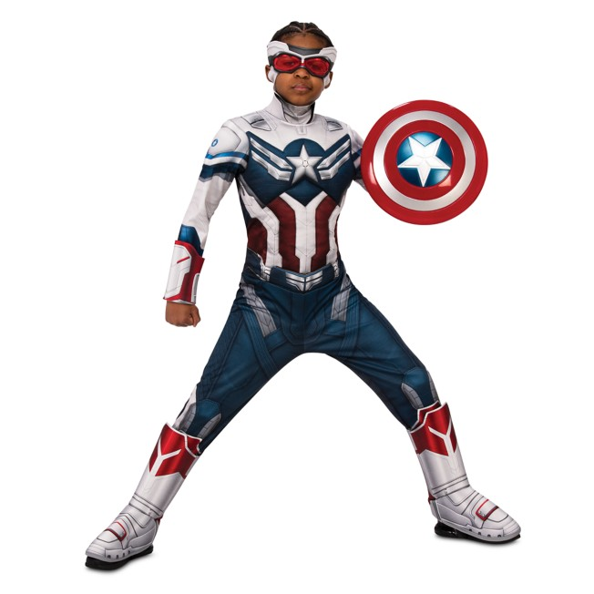Captain America Deluxe Costume for Kids by Rubies – The Falcon and the Winter Soldier