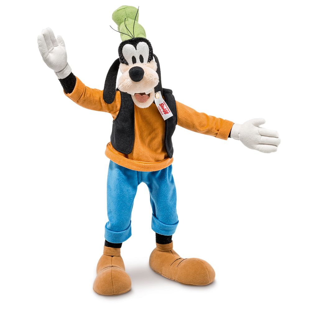 Goofy Collectible by Steiff  7 1/2''  Limited Edition Official shopDisney