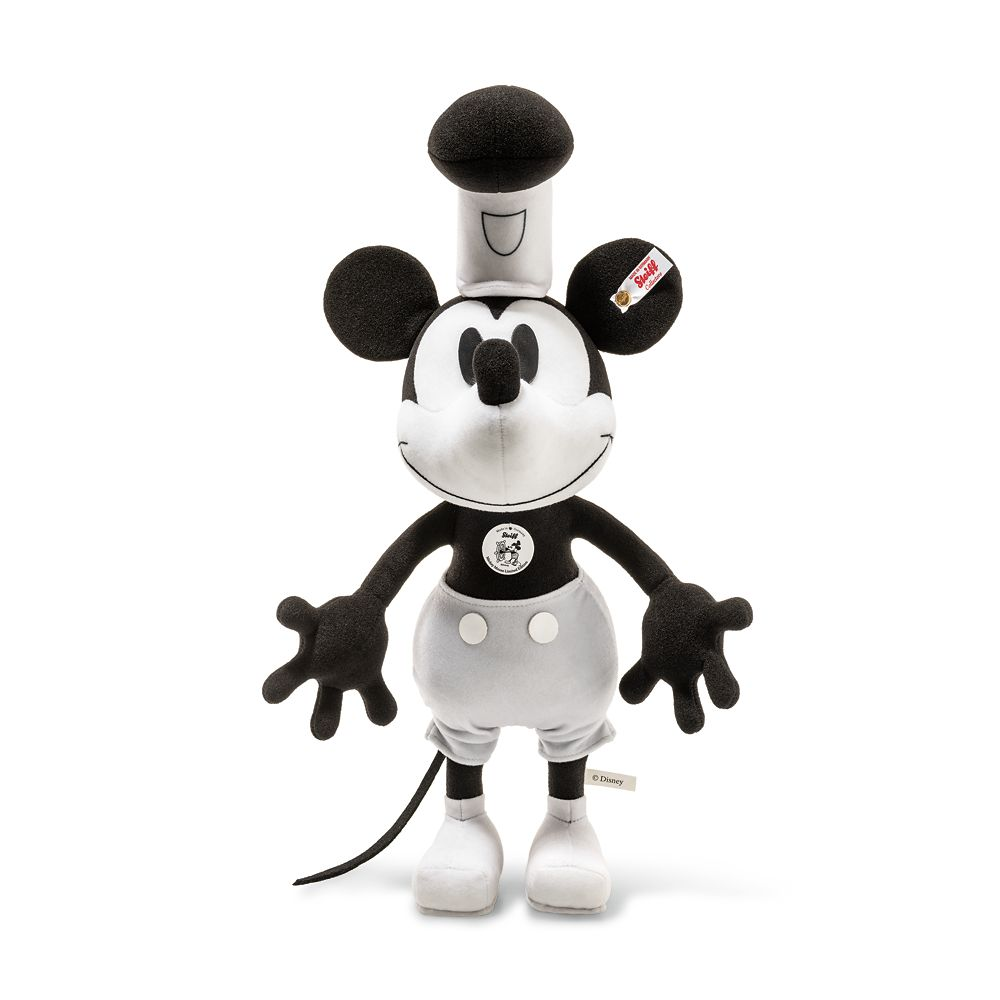 Mickey Mouse as Steamboat Willie Collectible by Steiff – 14'' – Limited Edition