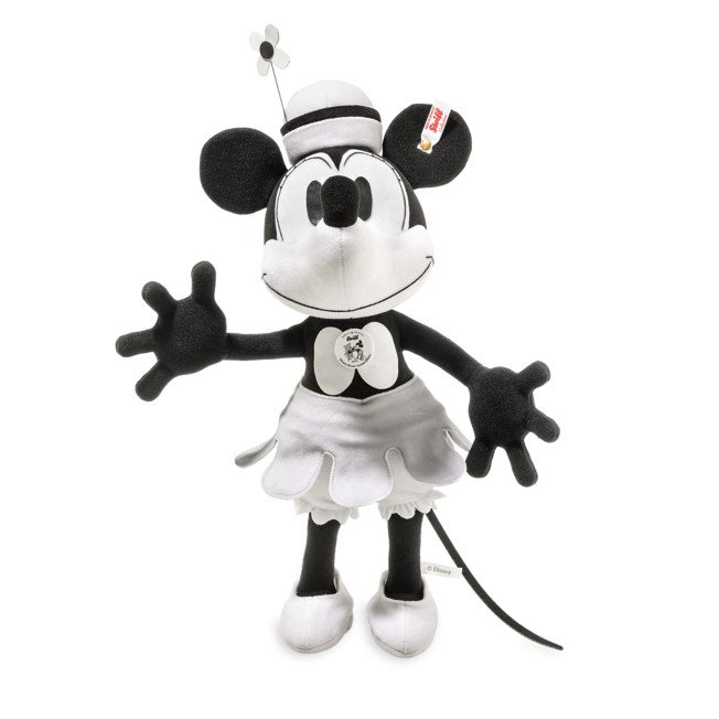 Minnie Mouse Steamboat Willie Collectible by Steiff – 15'' – Limited Edition