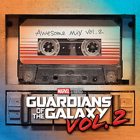 Guardians of the Galaxy Vol. 2 Soundtrack CD