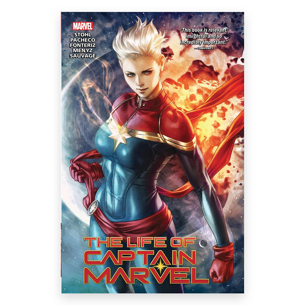 The Life of Captain Marvel Comic Book