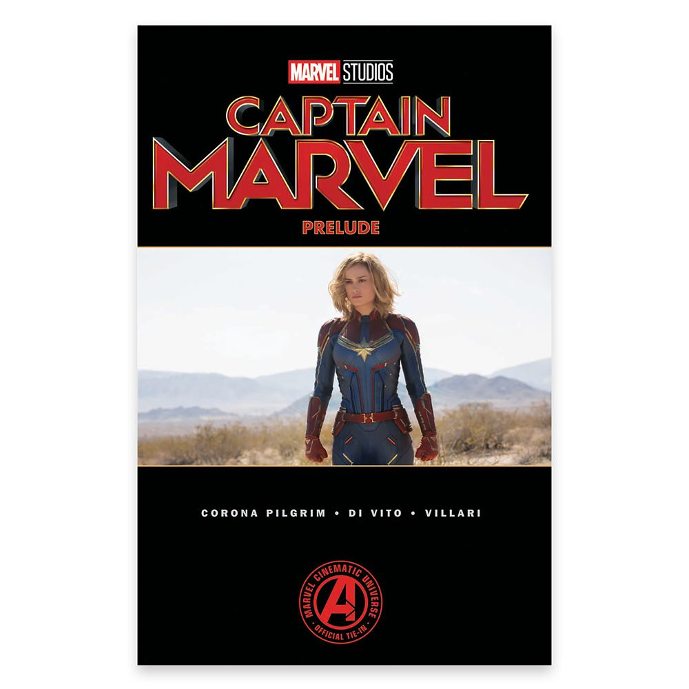 Marvel's Captain Marvel Prelude Book