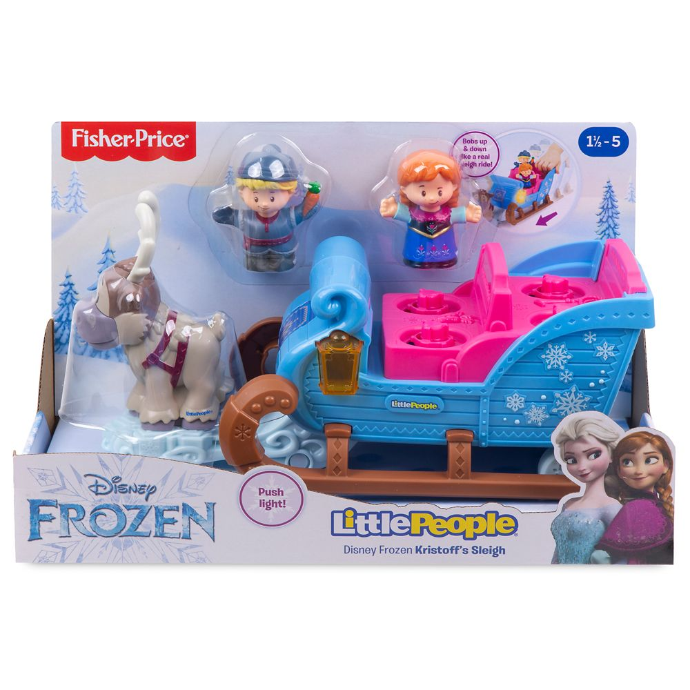 Frozen Kristoff's Sleigh Play Set by Little People