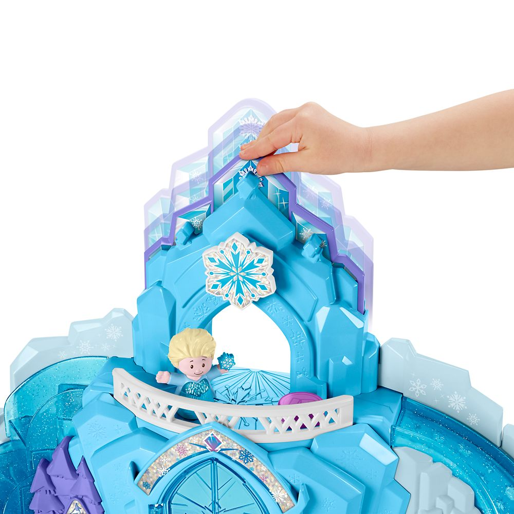 Frozen Elsa's Ice Palace Play Set by Little People