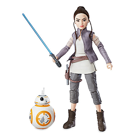 Rey of Jakku & BB-8 Action Figure Set - Star Wars: Forces of Destiny