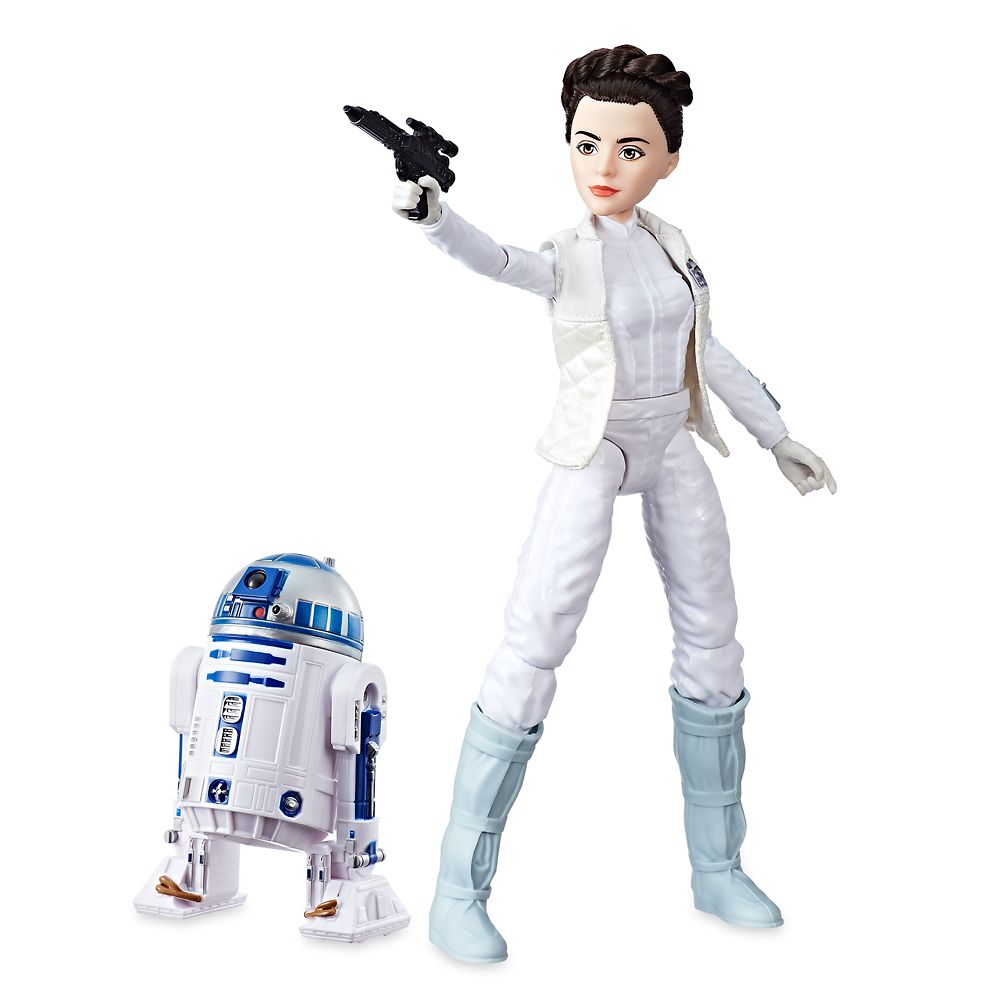 Star Wars Forces Of Destiny Princess Leia Organa R2-D2 Action Figures  Brand New