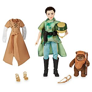 Princess Leia Organa & Wicket the Ewok Action Figure Set - Star Wars: Forces of Destiny 3060045460365P