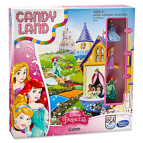 Disney Princess Candy Land Game