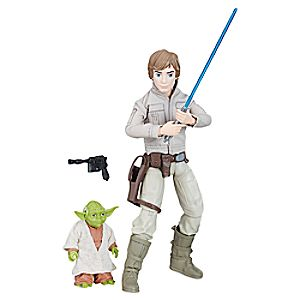 Luke Skywalker and Yoda Action Figure - Star Wars: Forces of Destiny - Hasbro 3060045460428P