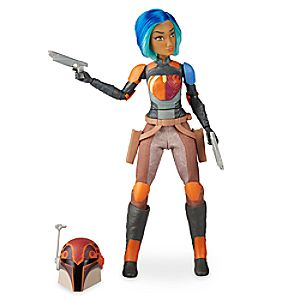 Sabine Wren Action Figure by Hasbro - Star Wars: Forces of Destiny - 11'' 3060045460672P
