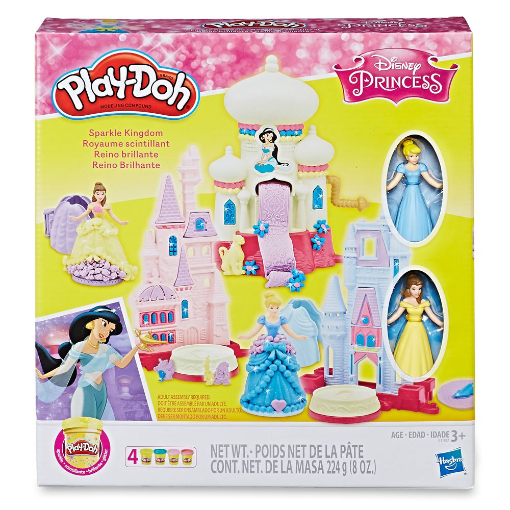 Disney Princess Sparkle Kingdom Play-Doh Set