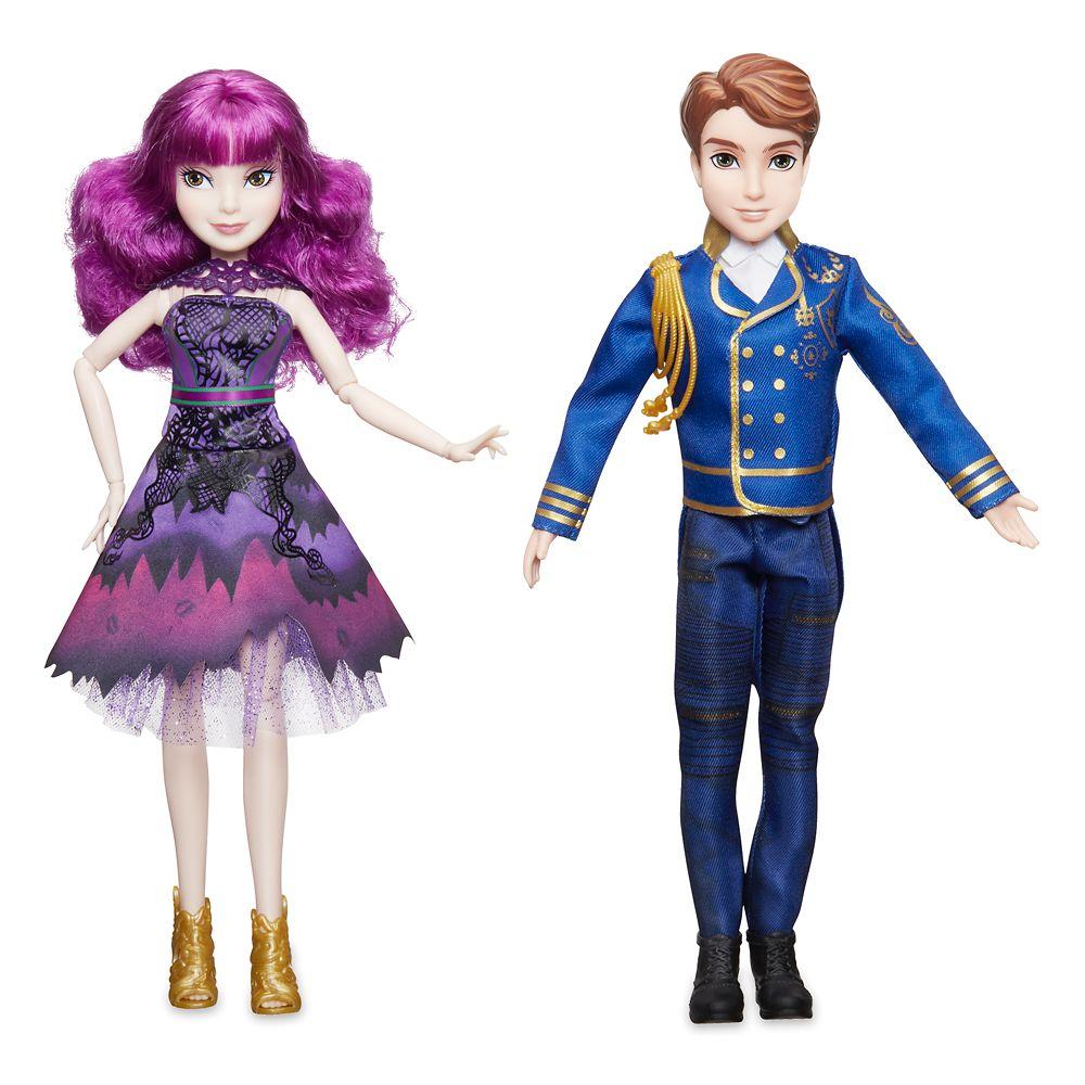 Mal and Ben Royal Cotillion Couple Doll Set  Descendants 2 Official shopDisney