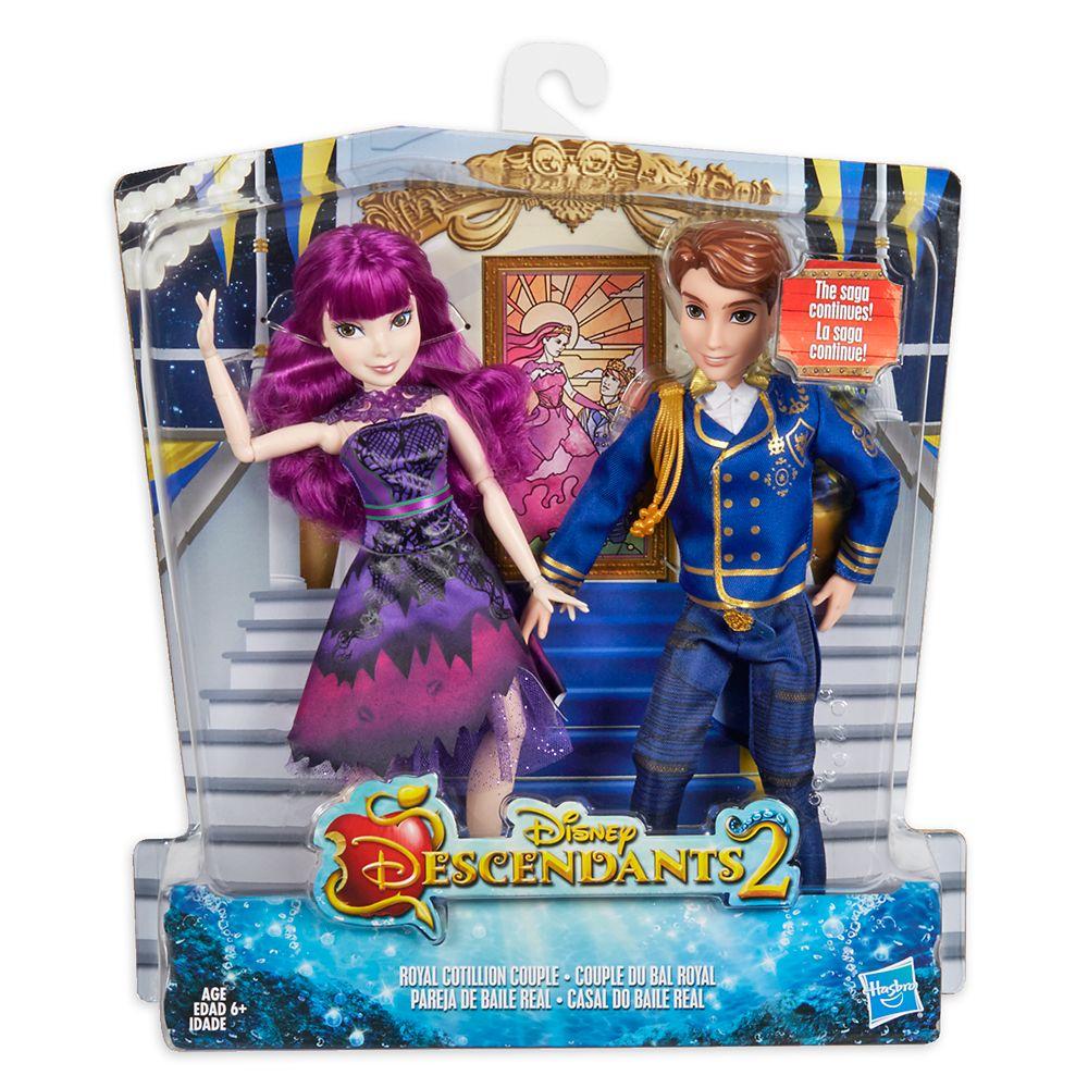 Mal and Ben Royal Cotillion Couple Doll Set – Descendants 2