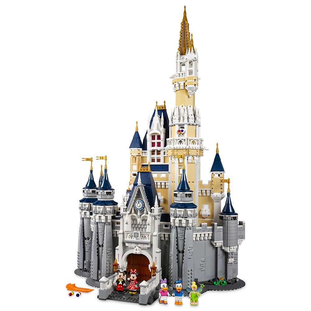 Disney Castle Playset by LEGO  Limited Release