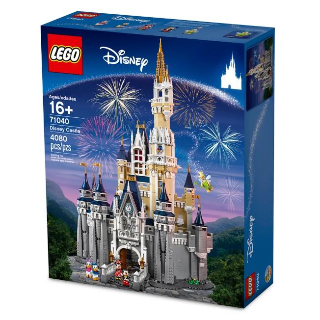 Lego Disney Castle Size