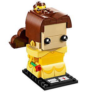 Disney Store Belle Brickheadz Figure By Lego