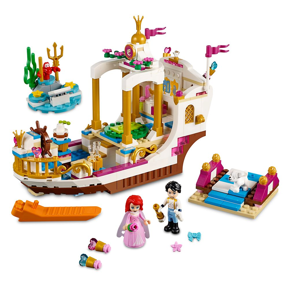 Ariel's Royal Celebration Boat Playset by LEGO