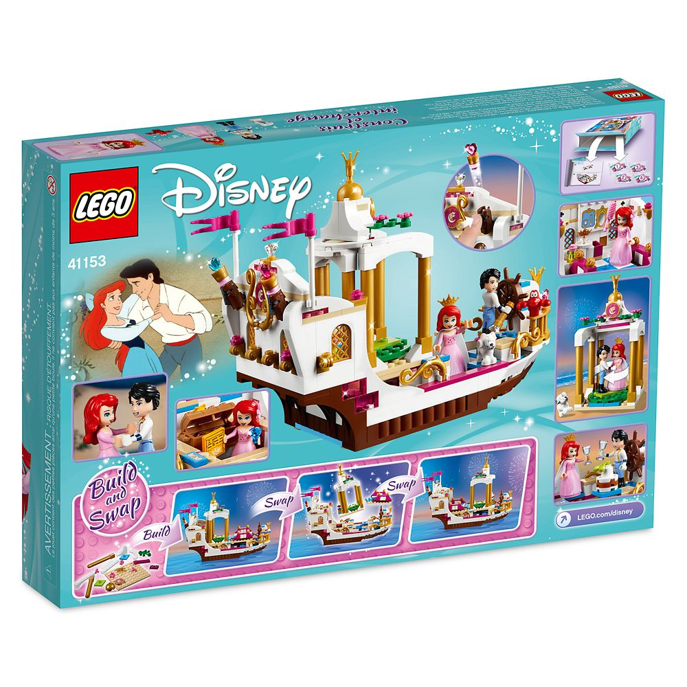 Ariel's Royal Celebration Boat Playset by LEGO