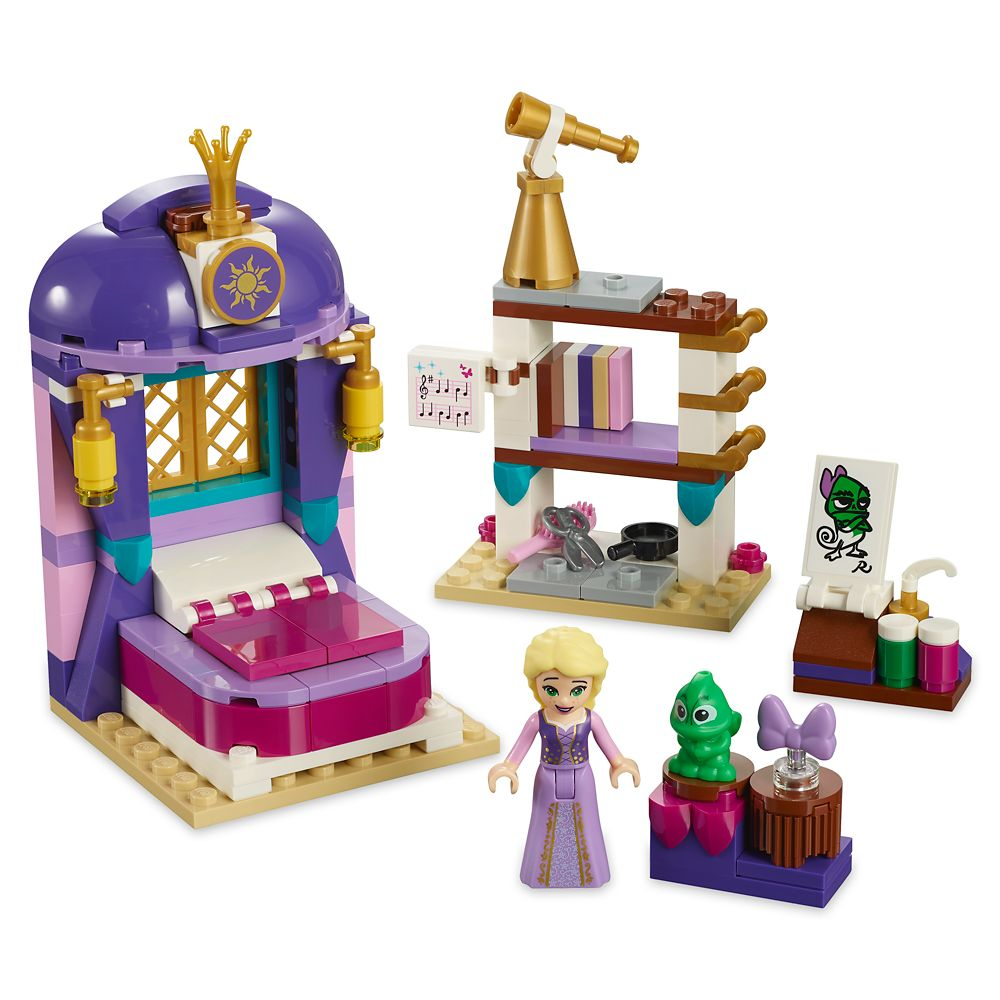 Rapunzel Castle Bedroom Playset by LEGO – Tangled: The Series