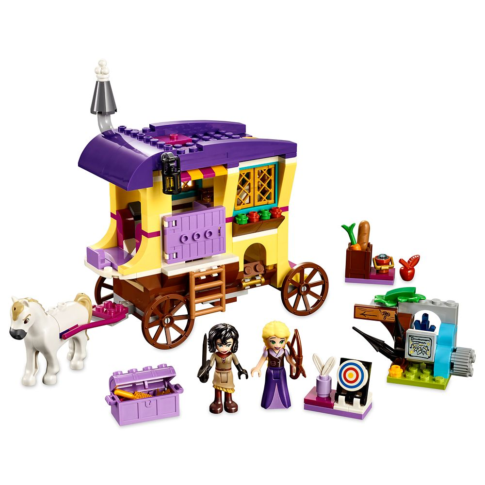 Rapunzel Travel Caravan Playset by LEGO  Tangled: The Series Official shopDisney