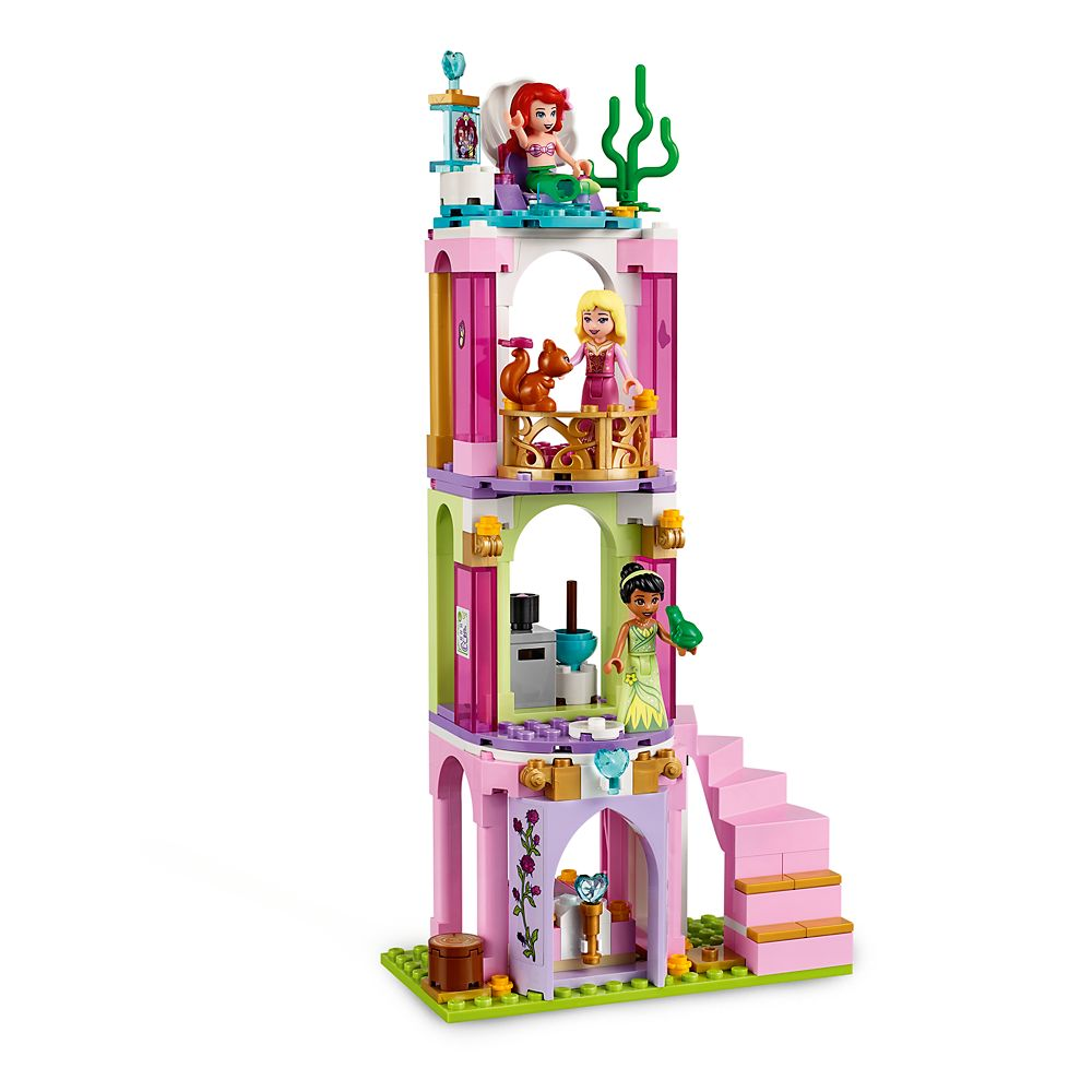 Ariel, Aurora, and Tiana's Royal Celebration Playset by LEGO