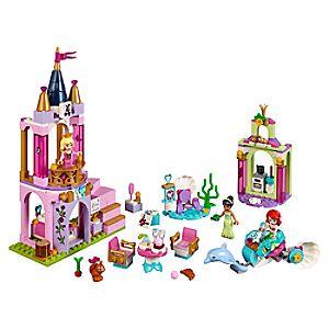 Ariel, Aurora, and Tiana's Royal Celebration Playset