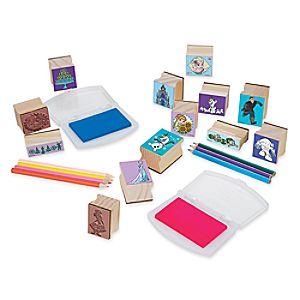 Frozen Deluxe Wooden Stamp Set by Melissa & Doug 3060055810942P
