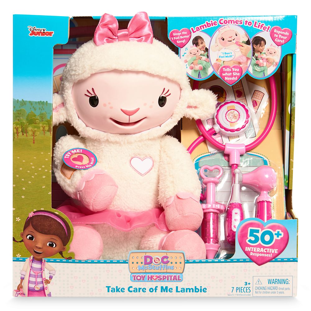 Doc McStuffins Take Care Of Me Lambie Playset
