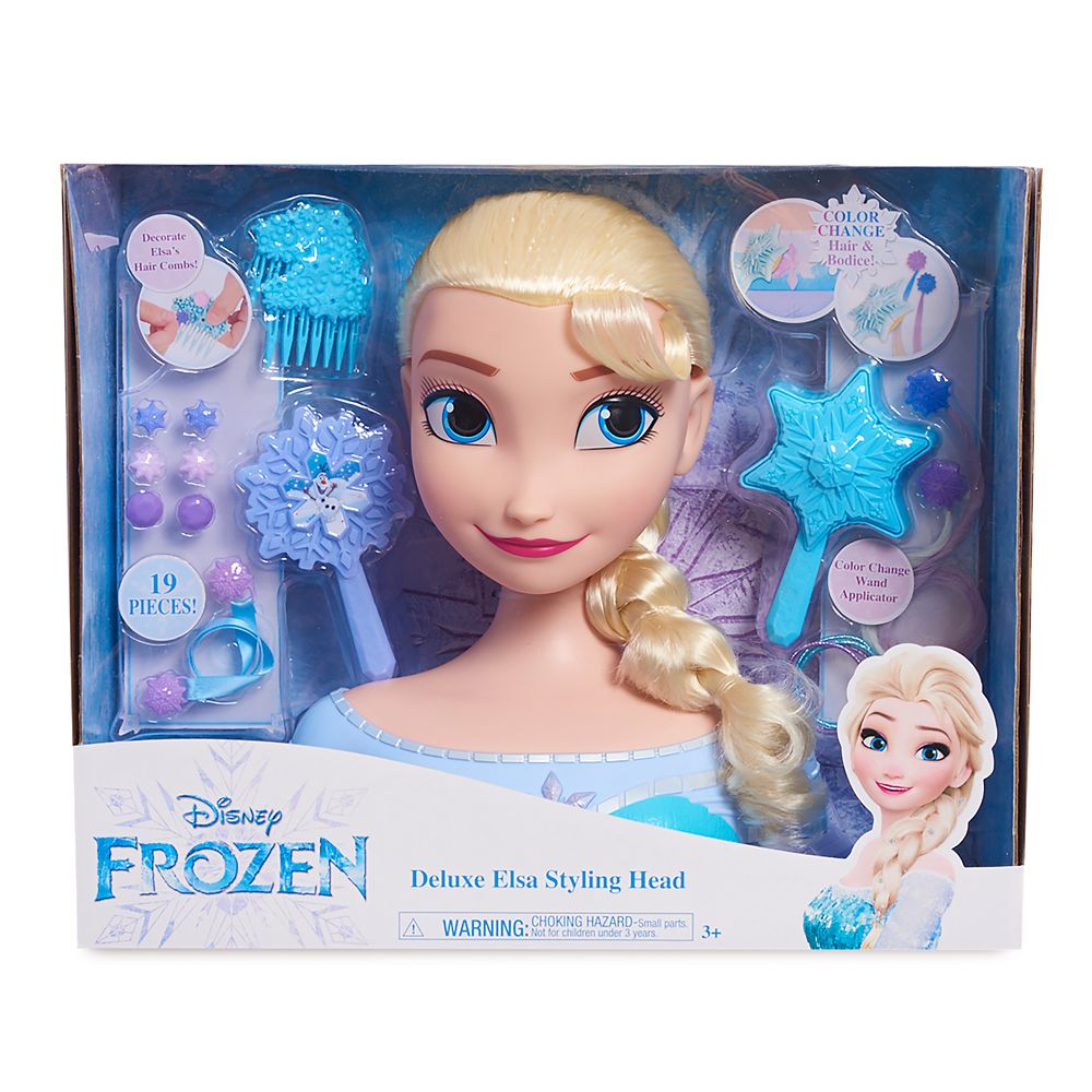 Years NEW Disney Frozen Royal Color Elsa Doll Dress Changes Color w// Water 3