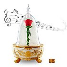 Enchanted Rose Jewelry Box - Beauty and the Beast Live Action Film