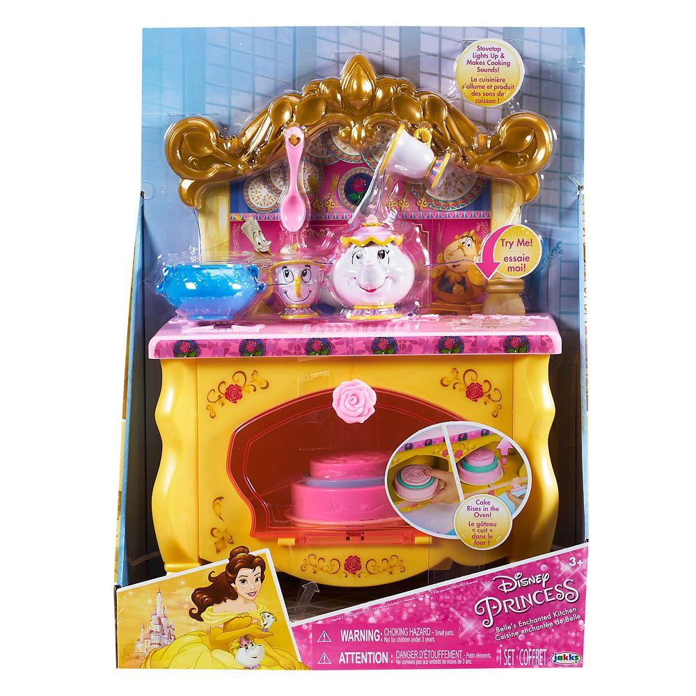 Belle's Enchanted Kitchen Playset