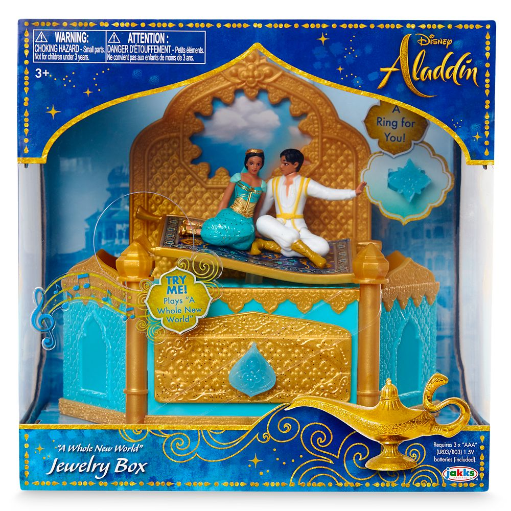 Aladdin Jewelry Box