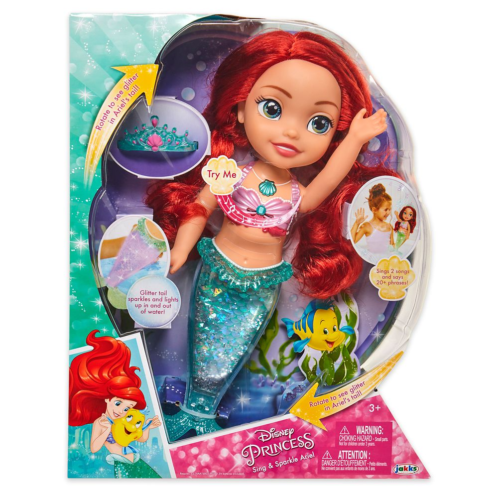 Ariel Sing and Sparkle Doll – The Little Mermaid