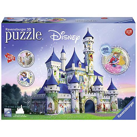 Disney Castle 3D Puzzle by Ravensburger