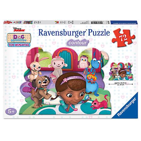 Doc McStuffins Toy Hospital Shaped Puzzle by Ravensburger