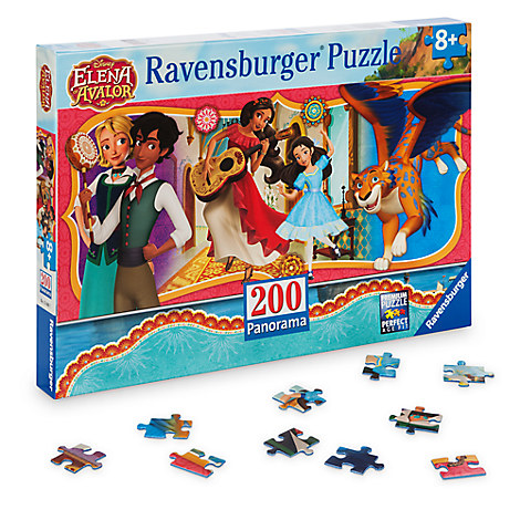 Elena of Avalor Panoramic Puzzle by Ravensburger