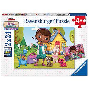 Doc McStuffins Toy Hospital Puzzle Set by Ravensburger 3060057961102P