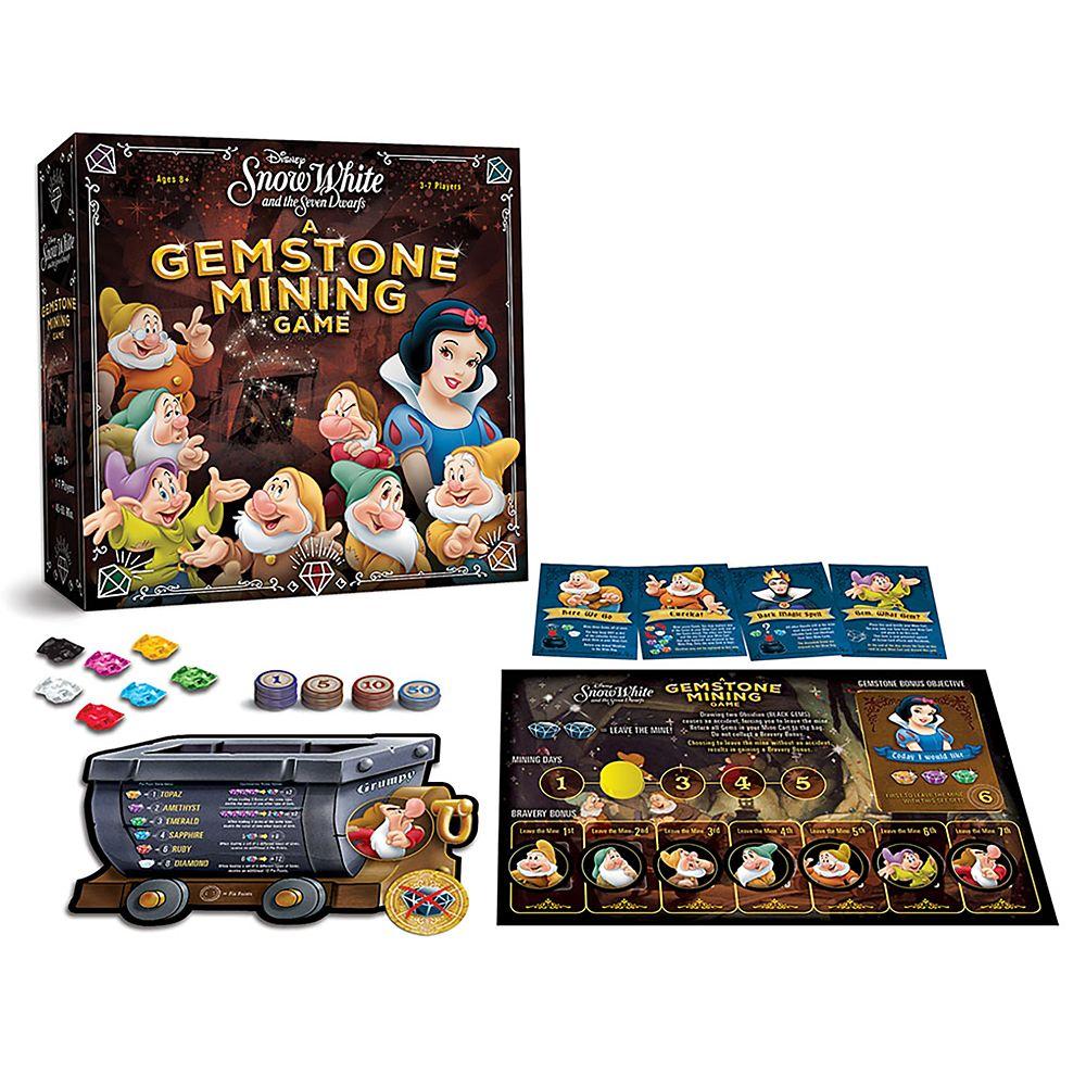 Snow White Gemstone Mining Board Game