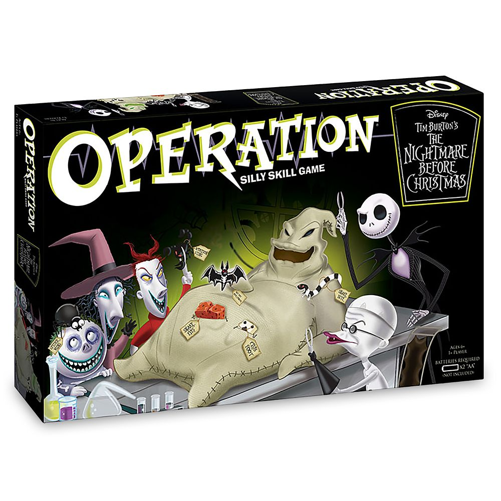 Tim Burton's The Nightmare Before Christmas Operation Game