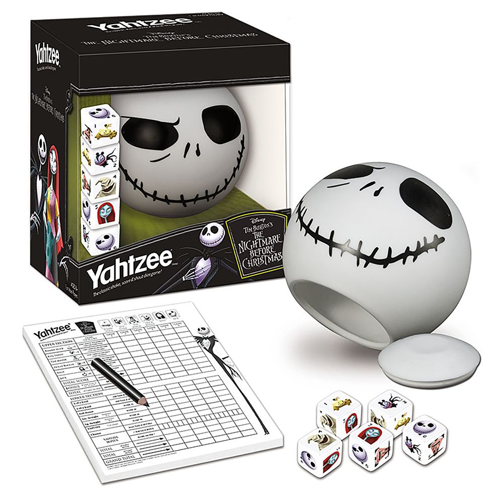 Tim Burton's The Nightmare Before Christmas Yahtzee Official shopDisney