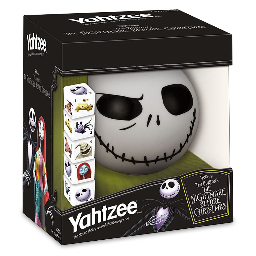 Tim Burton's The Nightmare Before Christmas Yahtzee