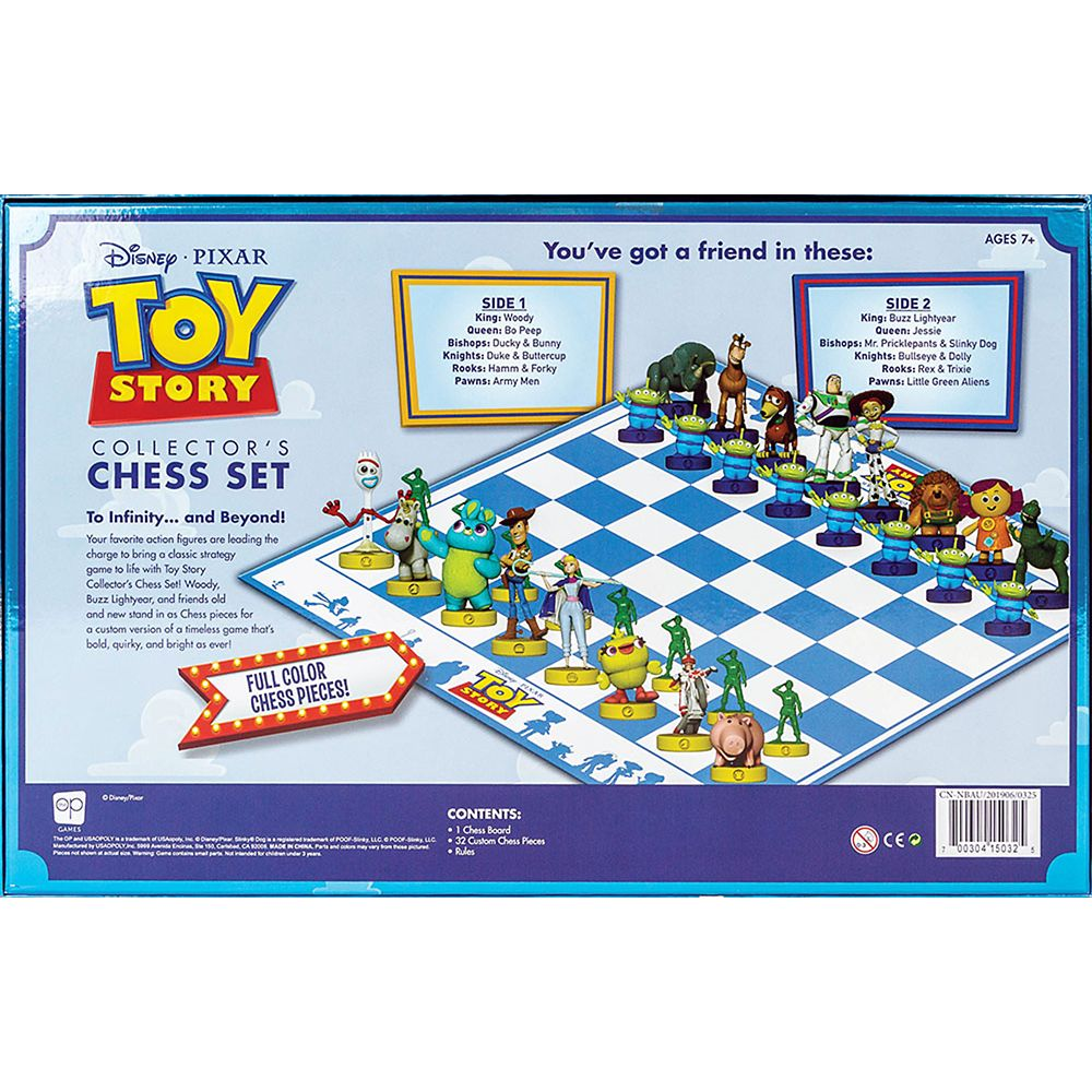 Toy Story Collector's Chess Set