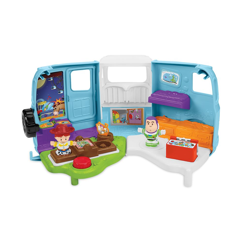 Jessie's Campground Adventure Play Set by Little People – Toy Story 4
