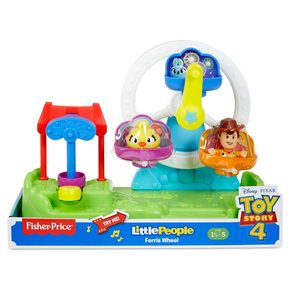 Toy Story 4 Ferris Wheel Play Set by Little People