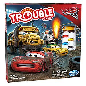 Trouble Game - Disney•Pixar Cars 3 Edition