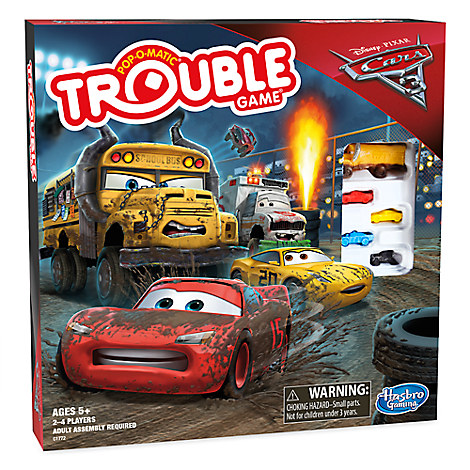 Trouble Game - Disney•Pixar Cars 3 Edition