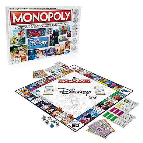 Disney Animation Monopoly Game